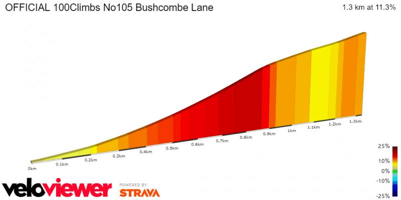 Bushcombe Lane Profile