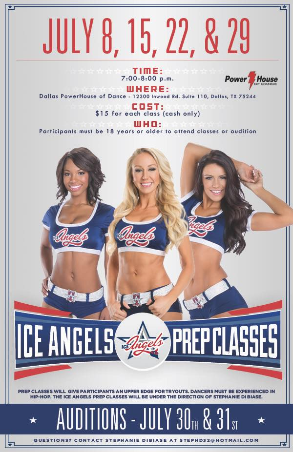 ice angels auditions