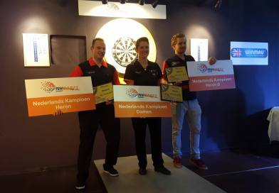 Sharon Prins & Hendrik Tooren Nederlands Kampioen.