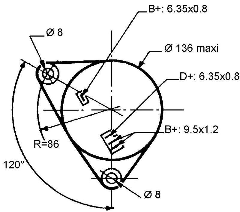 Alternateur + condensateur pour Case IH 1194