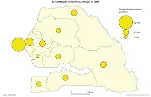 Les abattages contrôlés au Sénégal en 2005