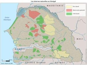 Les réserves naturelles au Sénégal