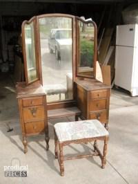 Value Of Antique Vanity With Mirror   Antique Furniture