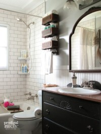Farmhouse Bathroom Remodel Reveal - Prodigal Pieces