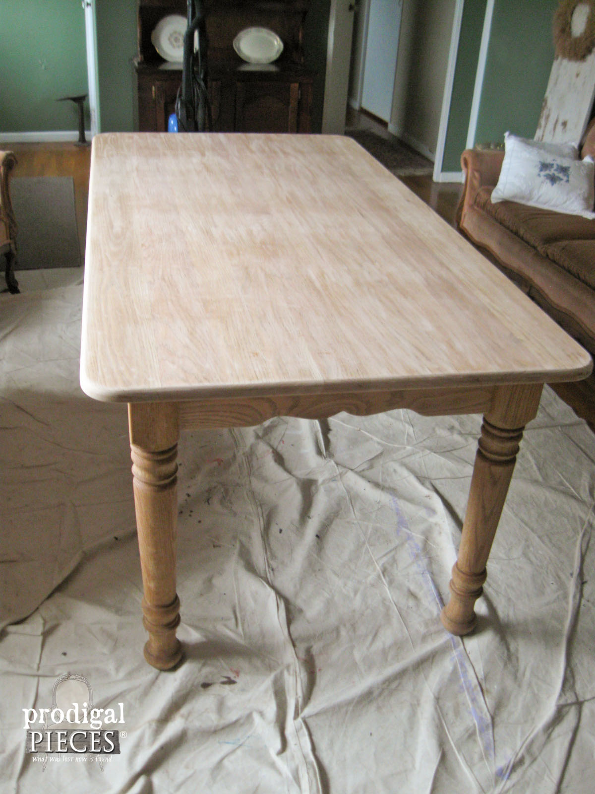 used kitchen table and chairs chair cover hire sunderland whitewashed (or limewashed) wood - prodigal pieces
