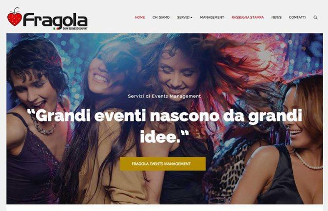 Creazione sito web agenzia rappresentanza