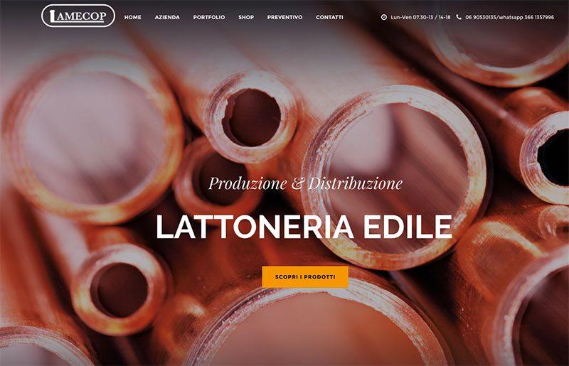 Lamecop ecommerce produzione e vendita lattoneria e rame for Cosma arredamenti