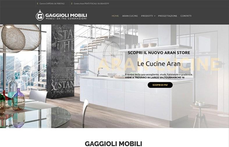 Restyling Sito web Angelo Gaggioli cucine Aran - Portfolio Wordpress ...