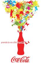 Prends la vie coté Coca cola
