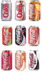 Canette Coca cola