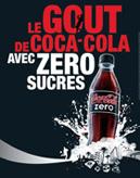 Coca cola zero-sucres
