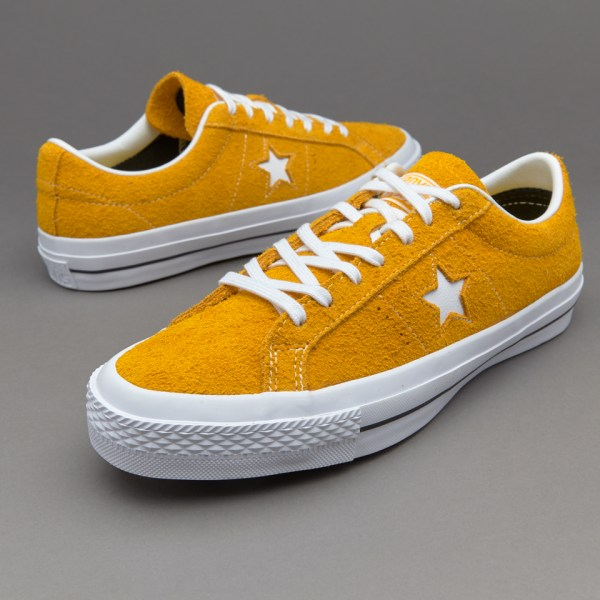 Mens Shoes - Converse Star Ox Yellow 153064c