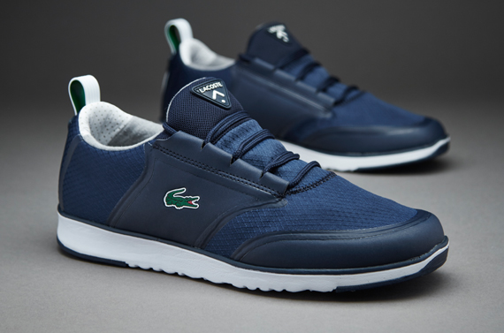 Mens Shoes Lacoste LIGHT LT12 Dark Blue