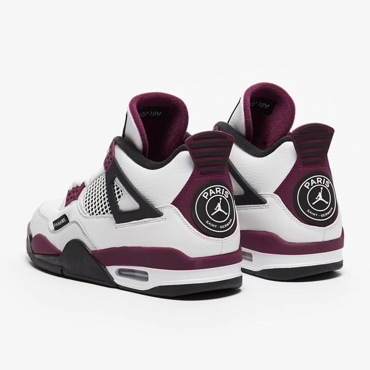 Air Jordan 4 Retro PSG - White - Mens Shoes | Pro:Direct ...