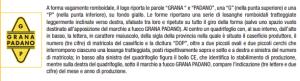 logo Grana Padano - fonte Mipaaf