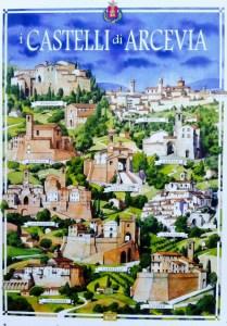 poster castelli di arcevia