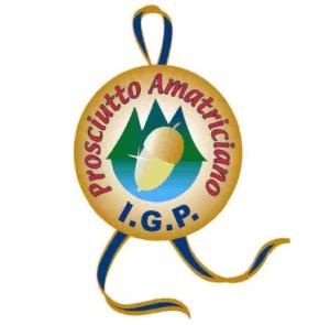 logo prosciutto di Amatrice IGP