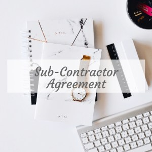 Sub Contractor Agreement