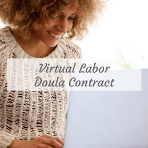 Virtual Labor Doula Contract