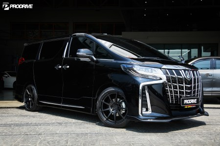 Alphard 30 Face lifted x BC FORGED