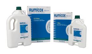 Rumicox estrá disponible en dos presentaciones 1 litro y 2,5 litros.