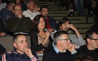 El público se mostró muy proactivo durante la jornada e interactuó con los ponentes en las rondas de preguntas.