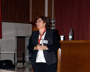"La Dra. Trini Ansó presentó la ponencia de clausura titulada ""Plan de control del PRRS en la ADS de Tauste"""
