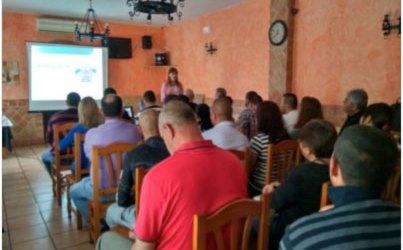 Formación sobre bioseguridad en Agropecuaria Casas Nuevas
