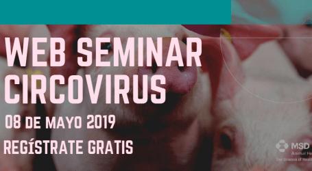 MSD Animal Health te invita al Web Seminar de Joaquim Segalés sobre circovirus.
