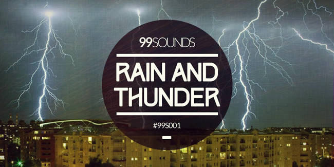 Raind and Thunder Sounds Samples