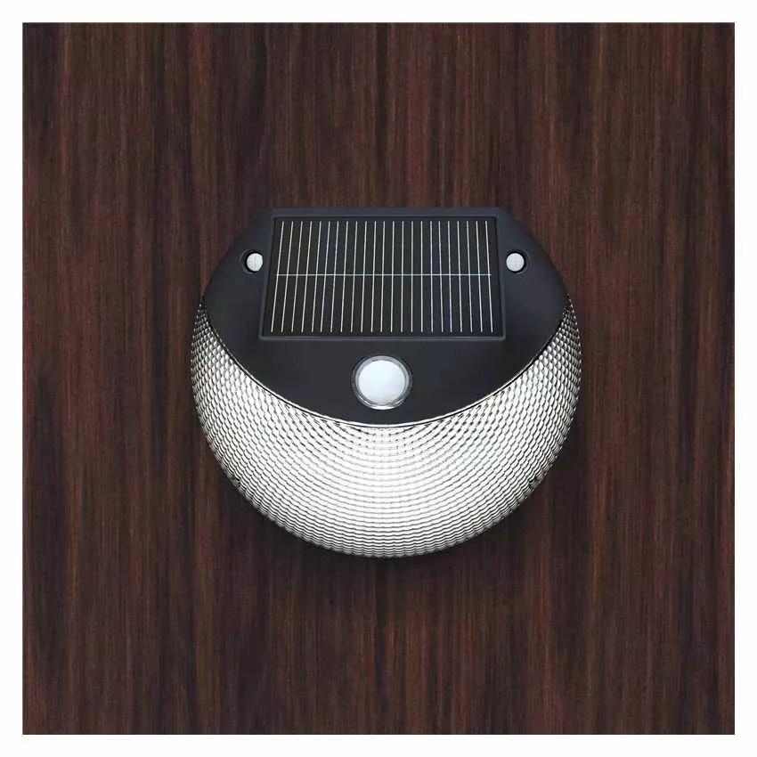 Lampada a LED a Muro a Energia Solare per Giardino Esterni