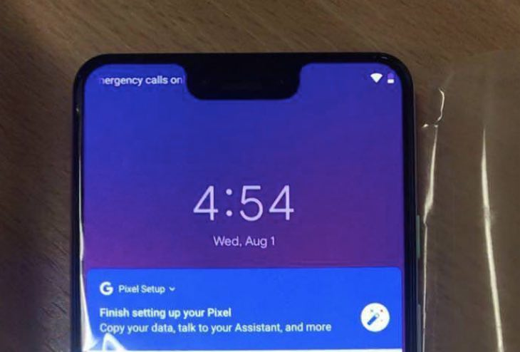 First Pixel 3 XL Pictures And Unboxing Video Revealed