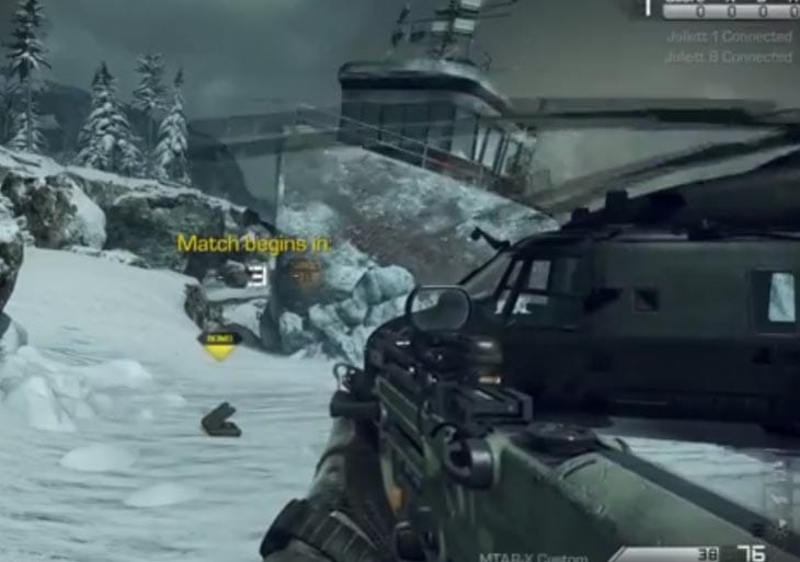 COD Ghosts Guns Showcased In Multiplayer Product Reviews Net
