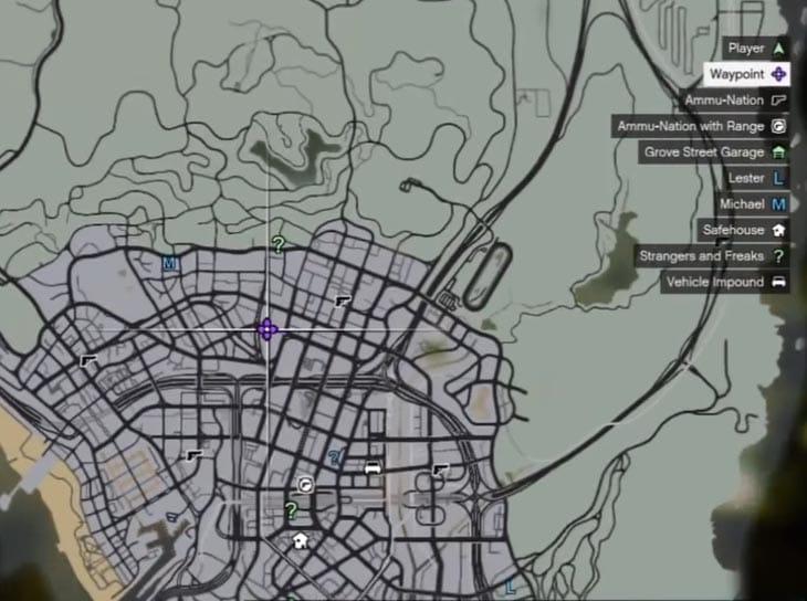 GTA V stunt jumps gain map locations  Product Reviews Net
