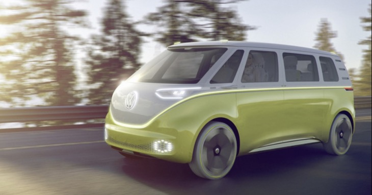 New VW Bus In 2017 Concept Called ID Buzz Product