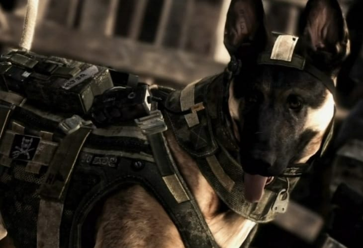 Call Of Duty Ghosts Dog In 60FPS Graphics Product