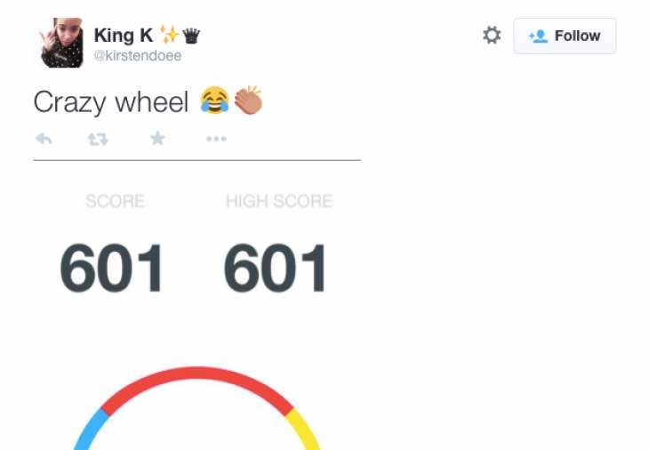Crazy Wheel high scores over 500 impossible