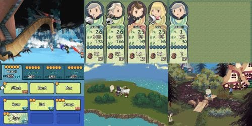 Final Fantasy The 4 Heroes Of Light First Nintendo DS Screenshots Product Reviews Net