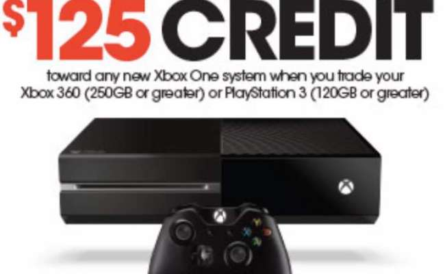 Xbox One Console Under 250 With Gamestop Trade In