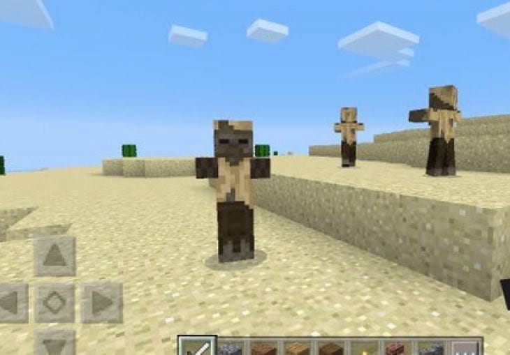New Minecraft PE 0150 Husk Mob Feature Confirmed