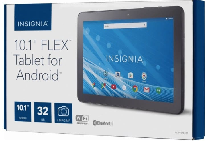 Insignia NS P10A8100 101 Tablet Review With Performance Fears Product Reviews Net