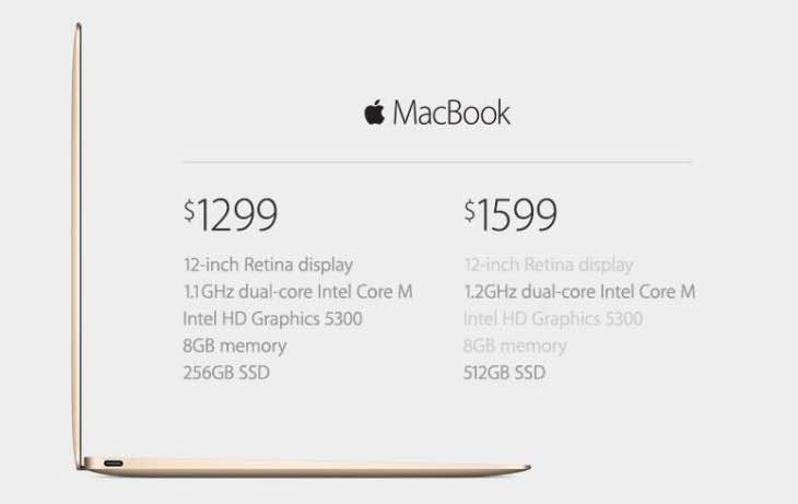 New MacBook 2015 specs with no fan