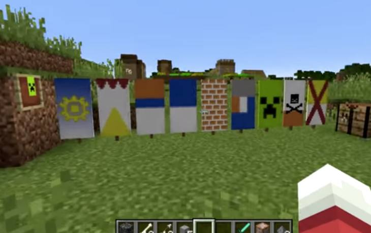 Minecraft Banner Crafting With New Snapshot Product