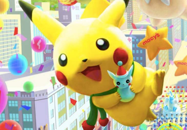 Cute Pokemon Iphone Wallpapers Macy S Thanksgiving Day Parade With 2014 Pokemon Pikachu