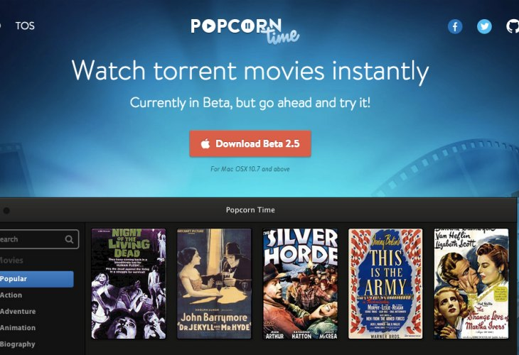 Popcorn Time App Download Asking For Trouble Product