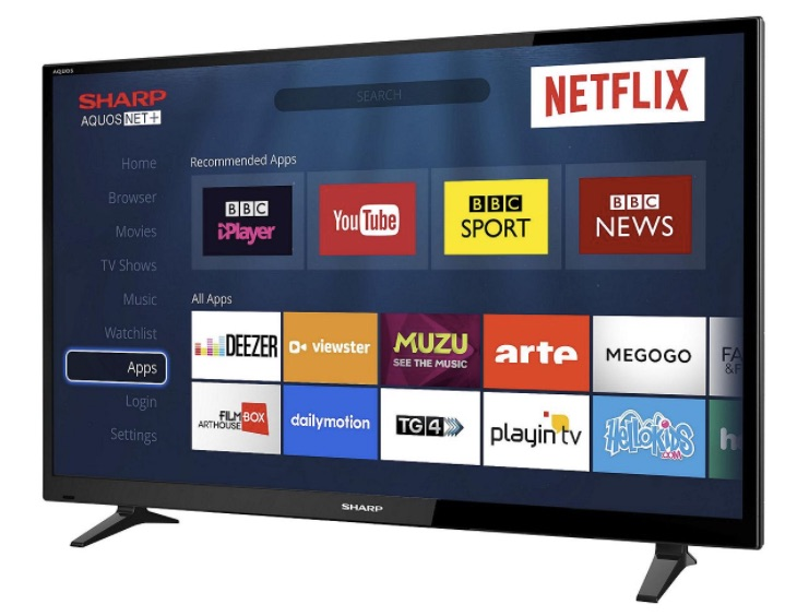 Sharp LC-40CFG3021KF Smart TV review perfect for bedroom – Product Reviews Net