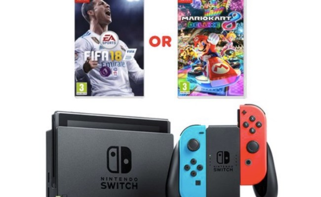 Nintendo Switch Console Uk Deals For Black Friday 2017