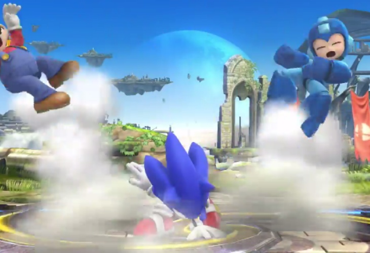 Super Smash Bros Update With Sonic Gameplay Product Reviews Net