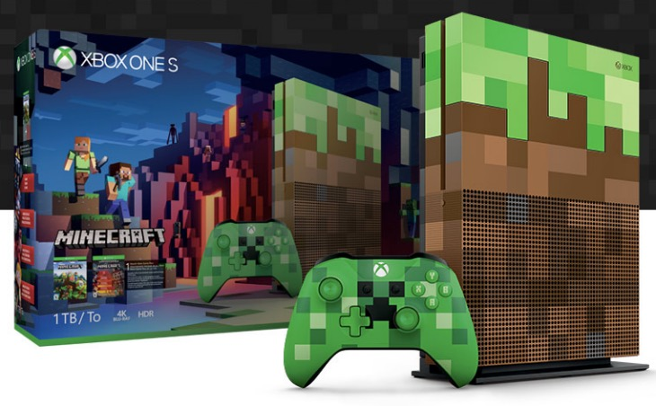 Minecraft Xbox One S Bundle Pre Order Price Release Date