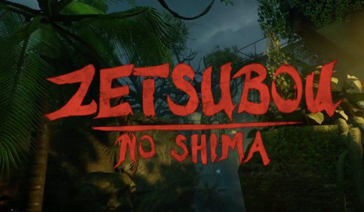 BO3 Zetsubou No Shima Zombies Map Layout Teased Product